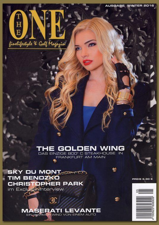 THE ONE – Finelifestyle & Golf Magazine – Ausgabe Winter 2016
